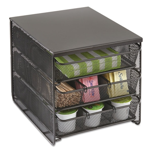 Safco 3 Drawer Hospitality Organizer 7 Compartments 11 1 2 Inch Wide X 8