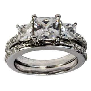 Handmade Sterling Silver Cubic Zirconia Ring