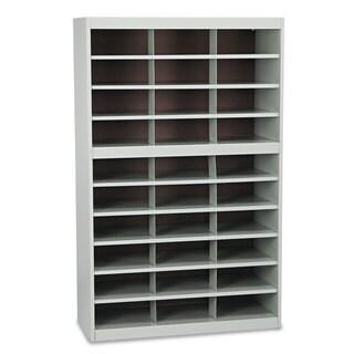 Safco Steel Project Center Floor Organizer 30 Pockets 37 1/2 x 15 3/4 x 60
