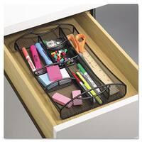 Shop Rolodex Metal Deep Desk Drawer Mesh Organizer Free