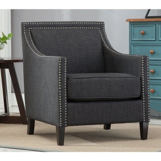 Copper Grove Birkenfeld Charcoal Accent Chair