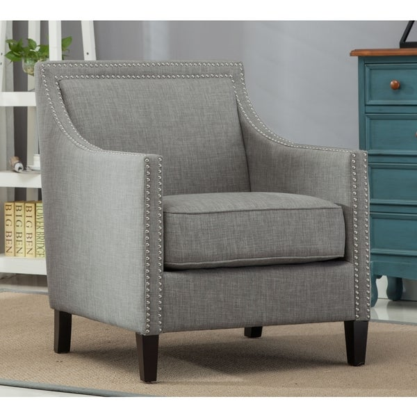 tanner gray accent chair by greyson living