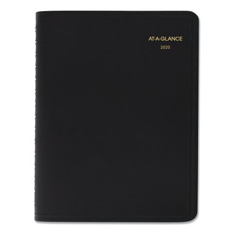 AT-A-GLANCE Four-Person Group Daily Appointment Book, 10 7/8 x 8, White, 2020