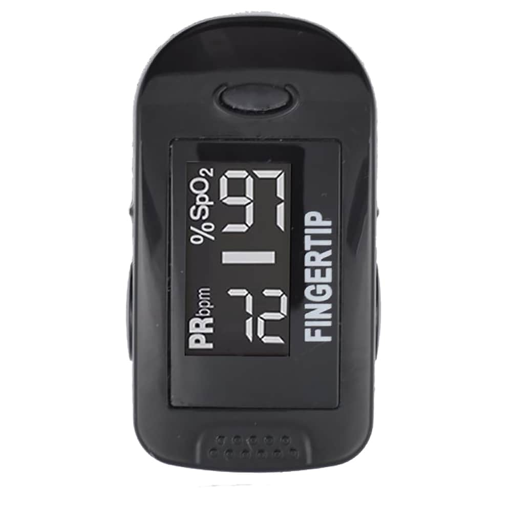Concord BlackOX Fingertip Pulse Oximeter with Reversible Display