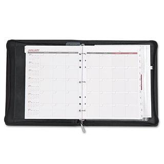 Day Runner Deco Refillable Planner 8 1/2 x 11 Black