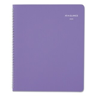 AT-A-GLANCE Beautiful Day Monthly Planner, 8 1/2 x 11, Purple, 2019