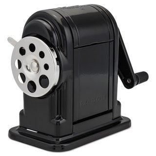 X-ACTO Ranger 55 Classroom Manual Pencil Sharpener Black