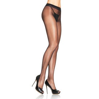 Leg Avenue Women's Lycra Sheer to Waist Support Pantyhose