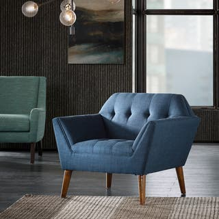 Blue Living Room Chairs For Less | Overstock.com