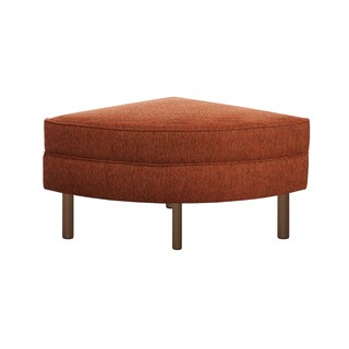 INK+IVY Monroe Orange Sectional Ottoman