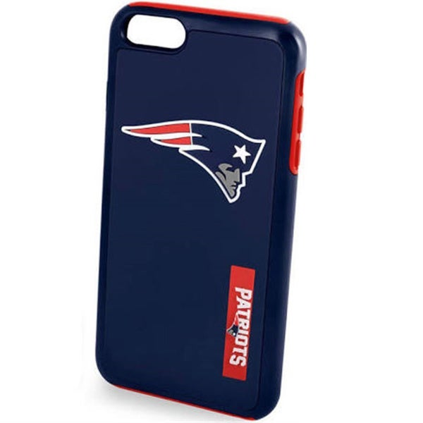 Shop NFLlicensed New England Patriots Dual Hybrid Case for Apple iPhone 7  Free Shipping On