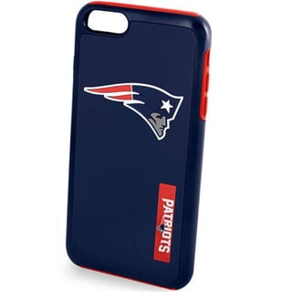 NFL-licensed New England Patriots Dual Hybrid Case for Apple iPhone 7
