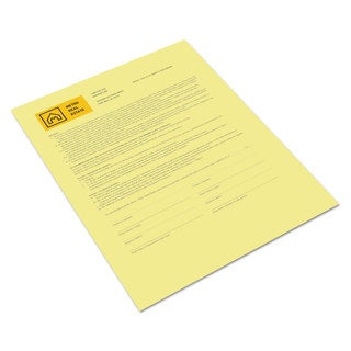 Xerox Bold Digital Carbonless Paper 8 1/2 x 11 Canary 500 Sheets/RM
