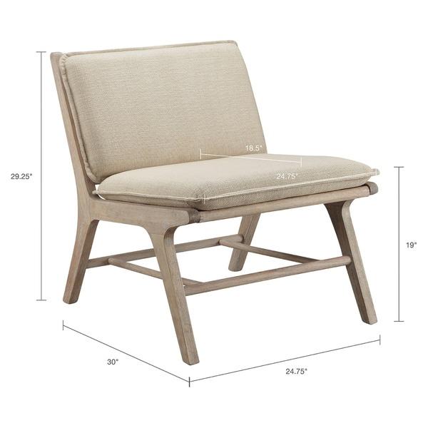 Carson Carrington Turi Tan Lounge Chair