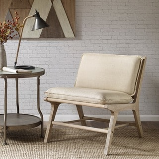 INK+IVY Melbourne Tan Lounger with Cane