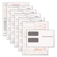 TOPS 1099-MISC Tax Form Kits 8 x 5 1/2 5-Part Inkjet/Laser 24 1099s & 1 1096