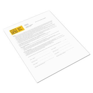 Xerox Bold Digital Carbonless Paper 8 1/2 x 11 Coated Front/Back White 500 Sheets