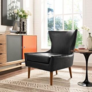 Keen Vinyl Wingtip Armchair