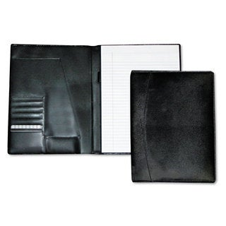 Buxton Men's Classic Pad Folio/Writing Pad 8 1/2 x 11 Black Each
