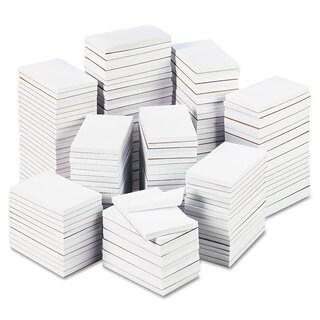 Universal Bulk Scratch Pads Unruled 3 x 5 White 180 100-Sheet Pads/Carton