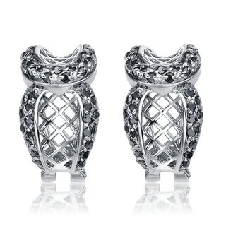 Collette Z Sterling Silver Cubic Zirconia Ever After Earrings