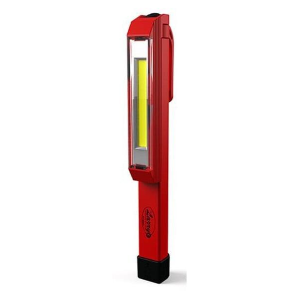 Nebo Larry-C 6350 C-O-B Red Anodized Aluminum 170-lumen LED Work Light Flashlight