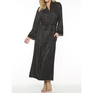 Rhonda Shear Women's Printed Long Robe|https://ak1.ostkcdn.com/images/products/14062292/P20675552.jpg?impolicy=medium