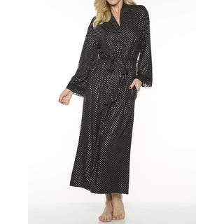 Rhonda Shear Women's Printed Long Robe (More options available)