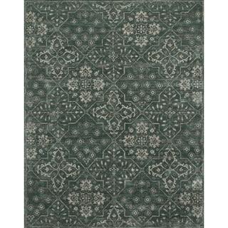 Elizabeth Charcoal Floral Rug (7'9 x 9'9)