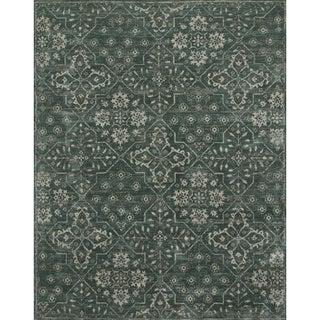 Elizabeth Charcoal Floral Rug (5' x 7'6)
