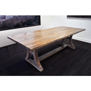 Solis Ligna Reclaimed Finish Solid Wood 8' Conference Table