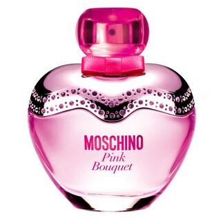 Moschino Pink Bouquet Women's 3.3-ounce Eau de Toilette Spray (Unboxed) (Tester)
