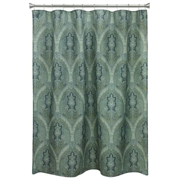 Landon Damask Shower Curtain