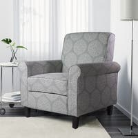 Adela Accent Arm Chair, Medallion Pattern, 7AM Collection by Ocean Bridge