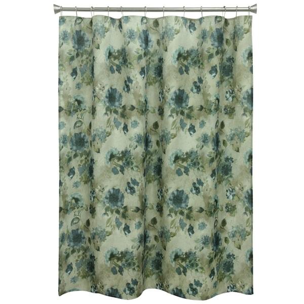 Landon Floral Shower Curtain