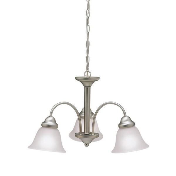 Kichler Lighting Wynberg Collection 3-light Brushed Nickel Chandelier