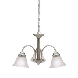 Kichler Lighting Wynberg Collection 3-light Brushed Nickel Chandelier