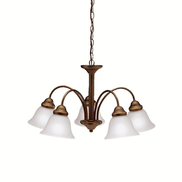 Kichler Lighting Wynberg Collection 5-light Olde Bronze Chandelier