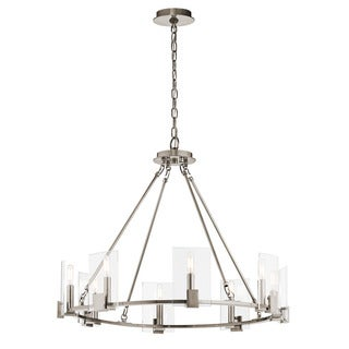 Kichler Lighting Signata Collection 8-light Classic Pewter Chandelier