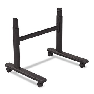 BALT Height-Adjustable Flipper Table Base 48-inch wide x 24-inch deep x 28-1/2 to 45-inch high Black