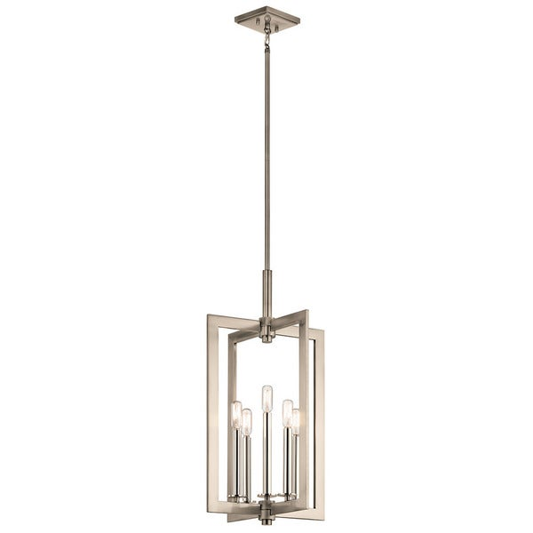 Kichler Lighting Cullen Collection 5-light Classic Pewter Foyer Pendant