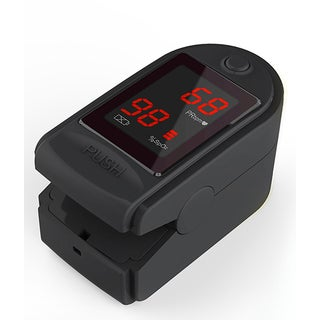 Concord Basics Black Finger Pulse Oximeter