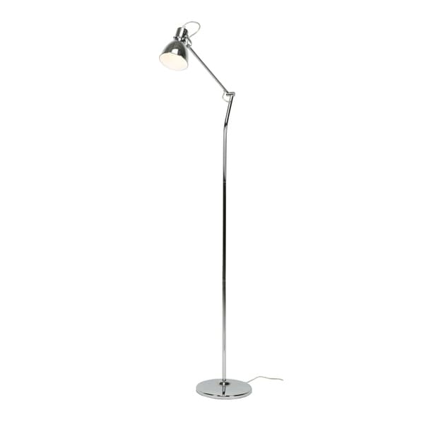 Euro Style Collection Lyon Industrial Floor Lamp (59 in.)