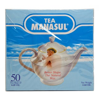 Tea Manasul Natural Herbal Tea Bags (Pack of 50)
