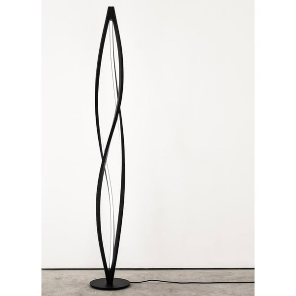 Shop Twist Led Floor Lamp On Sale Free Shipping Today Overstock 14062803