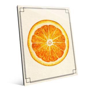 Orange Slice Wall Art Print on Glass|https://ak1.ostkcdn.com/images/products/14062974/P20676145.jpg?impolicy=medium