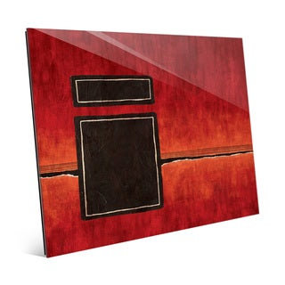 Interdimensional Gate Red Wall Art on Acrylic (More options available)