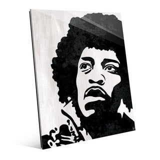 Jimi Hendrix Wall Art Print on Acrylic