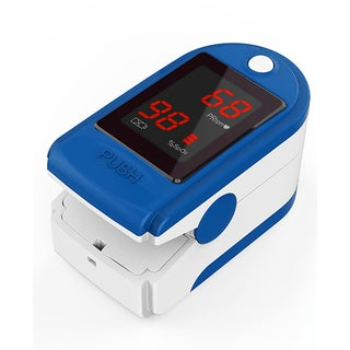 Concord Basics Finger Pulse Oximeter Blue