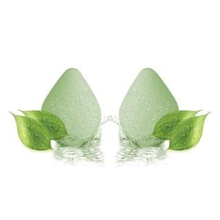 Green Tea Infused Konjac Makeup Sponge (Pack of 2)